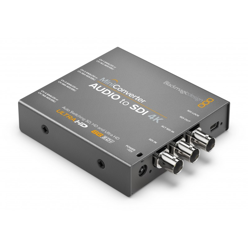 Mini Converter Audio to SDI 4K - Blackmagic