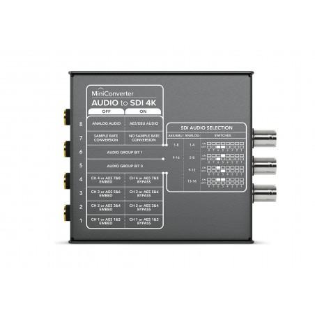 Mini Converter Audio to SDI 4K - Blackmagic
