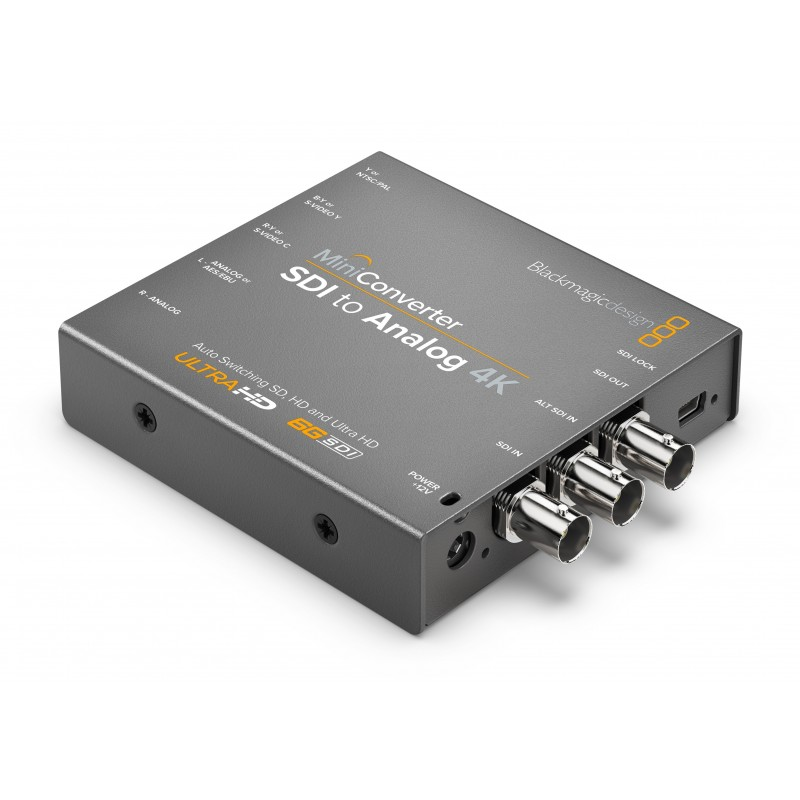 Mini Converter SDI to Analog 4K - Blackmagic