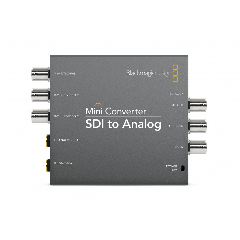 Mini Converter SDI to Analog - Blackmagic