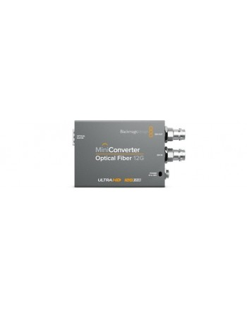 Mini Converter Optical Fiber 12 G - Blackmagic