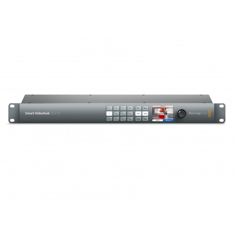 Smart Videohub CleanSwitch 12x12 - Blackmagic