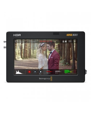"Supervision avec Video Assist 12G HDR 5"" de Blackmagic"