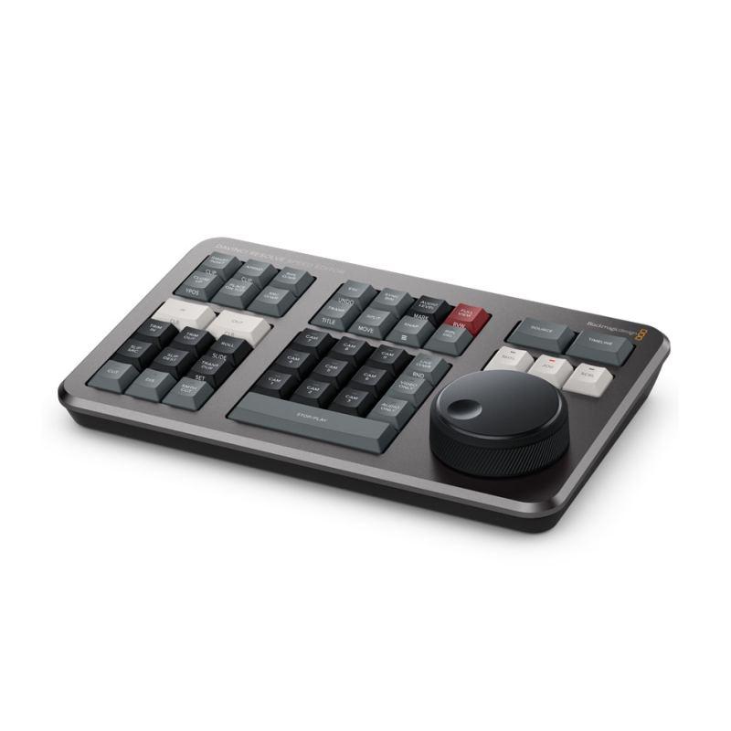 DaVinci Resolve Speed Editor mounting keyboard