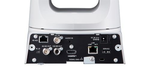 Supports 4K 60p shooting and 12G-SDI output