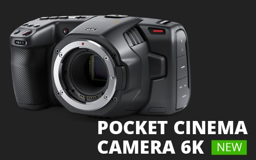 Pocket Cinema Camera 6K - Blackmagic