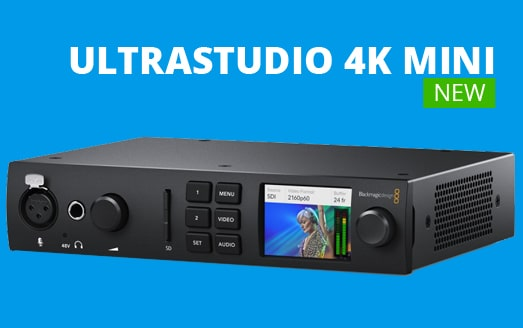 Ultrastudio 4K mini disponible !